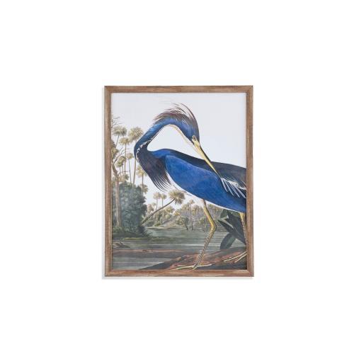 Bassett Mirror Company - Louisana Heron