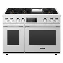 View Product - 48-inch Dual-Fuel Pro Range with 6 Burners and Griddle