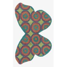 View Product - Hsk16 Teal / Multi Rug