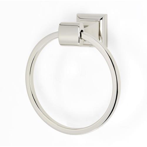 Manhattan Towel Ring A7440 - Polished Nickel