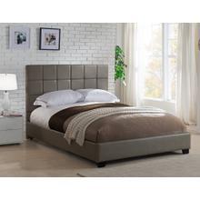 Kenora Platform Bed - Queen, Taupe