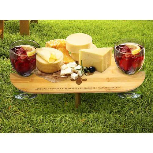 Epicureanist Portable Outdoor Wine Table