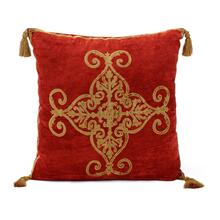 Terra Crushed Velvet Pillow