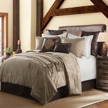 See Details - Diane Embossed Velvet Comforter Set, Oatmeal - Super King