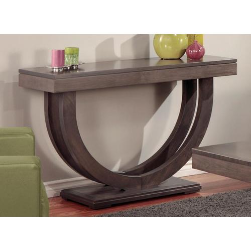 """- Contempo Pedestal 46"""" Sofa Table"""