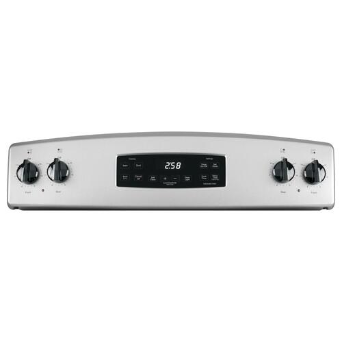 "GE® 30"" Free-Standing Self-Clean Electric Range"