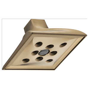 H 2 Okinetic® Square Showerhead Product Image