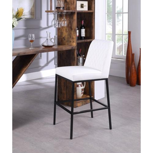 """Bryce Faux Leather Bar Stool - 18.5"""" W x 22"""" D x 42.5"""" H"""
