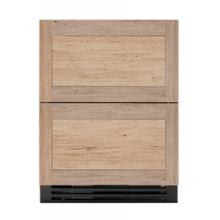 24 Inch Overlay Panel Door ADA Height Undercounter Refrigerator Drawer
