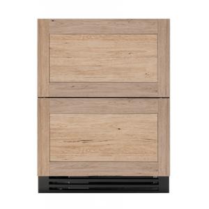 True Residential24 Inch Overlay Panel Door ADA Height Undercounter Refrigerator Drawer