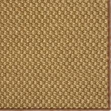 See Details - Double Weave Jute Tigers Eye 12'x15' / Leather Border