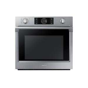 "Samsung30"" Smart Single Wall Oven with Flex Duo™ in Stainless Steel"