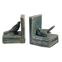 View Product - S/2 Bird Bookends,L-Shaped
