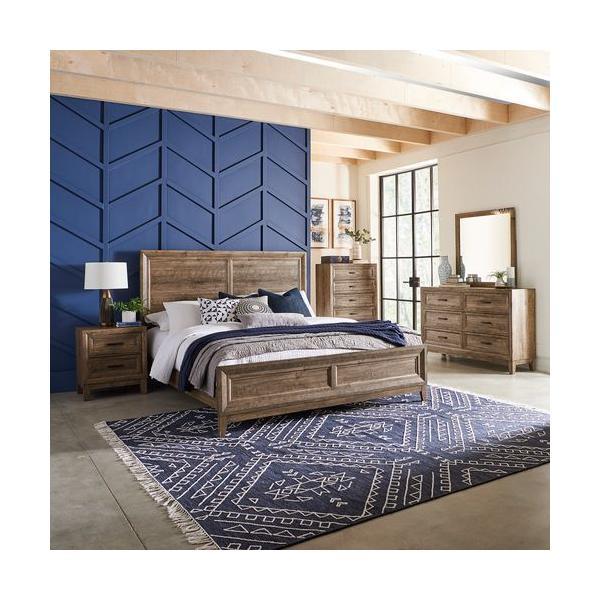 See Details - Queen Panel Bed, Dresser & Mirror, Chest, Night Stand
