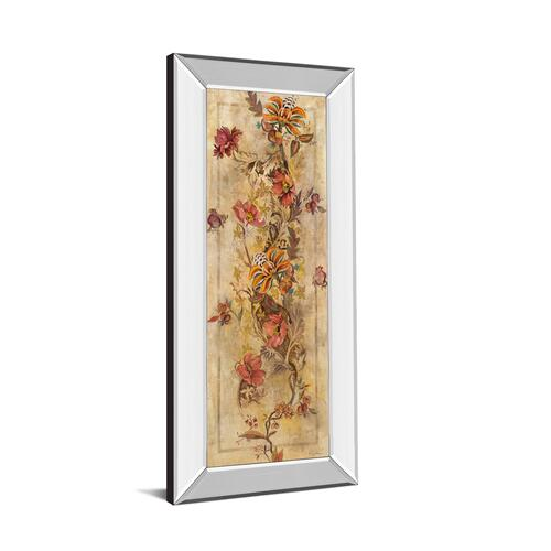 "Classy Art - ""Fleur Delicate I"" By Georgie Mirror Framed Print Wall Art"