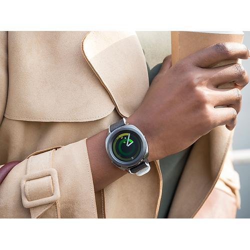 Samsung - Hybrid Sport Band for Galaxy Watch 42mm & Gear Sport, White