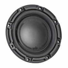 "DB+ Series 8"" Single Voice Coil Subwoofer with Marine Certification in Black"