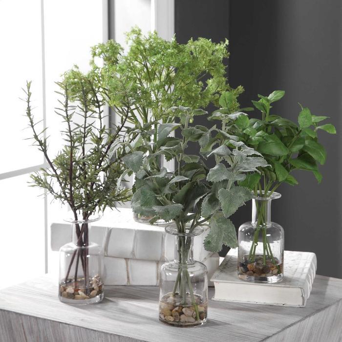 Uttermost - Ceci Kitchen Herbs, S/4