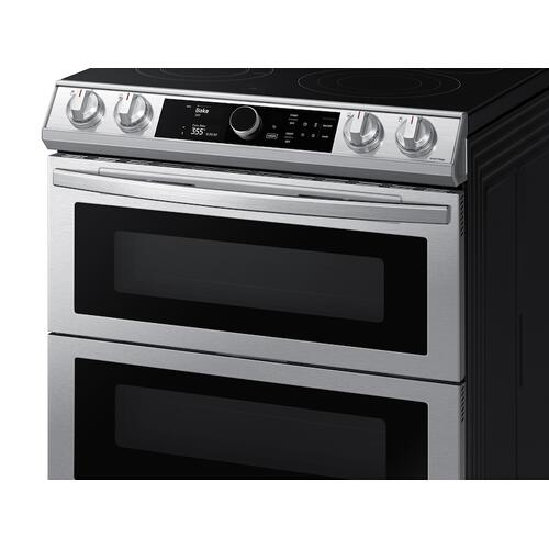6.3 cu ft. Smart Slide-in Electric Range with Smart Dial, Air Fry, & Flex Duo™ in Stainless Steel