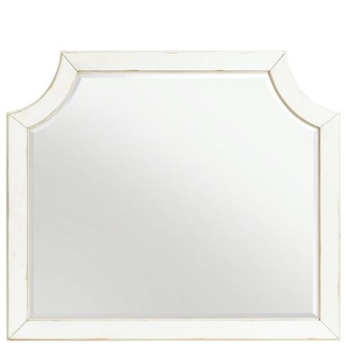 Bella Grigio - Mirror - Chipped White Finish