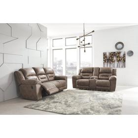 Stoneland Reclining Sofa & Console Loveseat Fossil