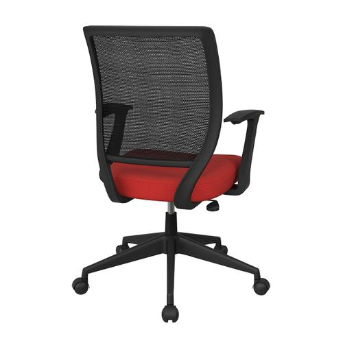 """Office Star - Screen Back Task Chair With """"t"""" Arms"""