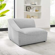 Comprise Left-Arm Sectional Sofa Chair in Light Gray