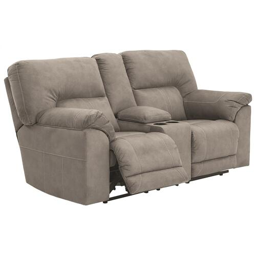 Gallery - Cavalcade Reclining Loveseat With Console