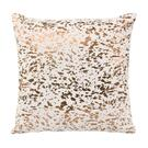 Leather Speckled Gold Pillow Product Image