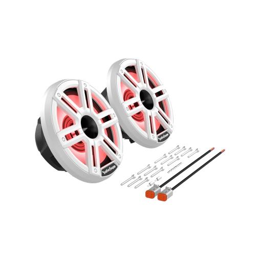 "Rockford Fosgate - M2 8"" Color Optix™ Marine 2-Way Horn Speakers"