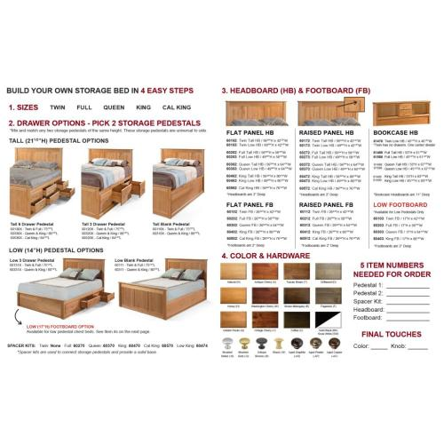 Archbold Furniture - Design Your Own Chest Bed