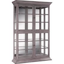 Mirror Back Display Cabinet