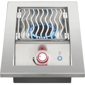 Built-in 700 Series Single Range Top Burner with Stainless Steel Cover , Stainless Steel , Natural Gas