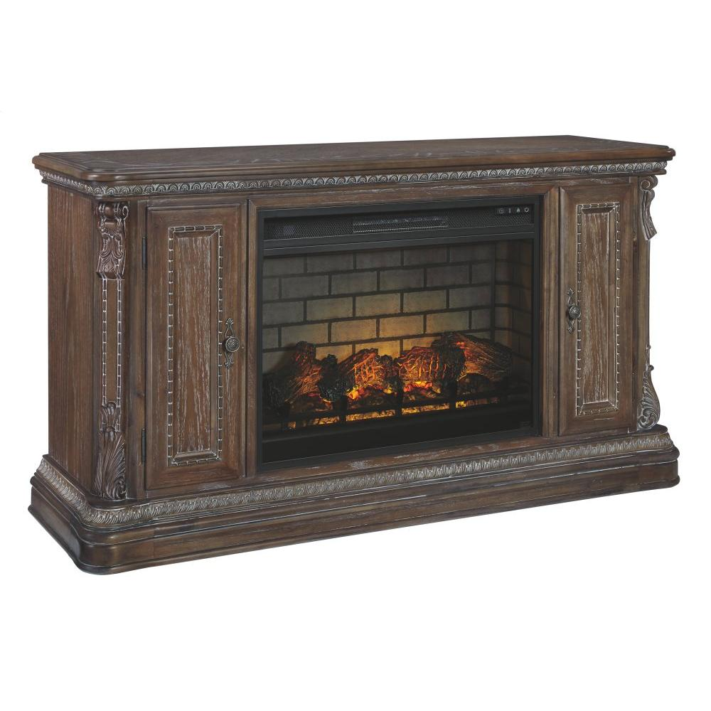 """Charmond 64"""" TV Stand With Electric Fireplace"""