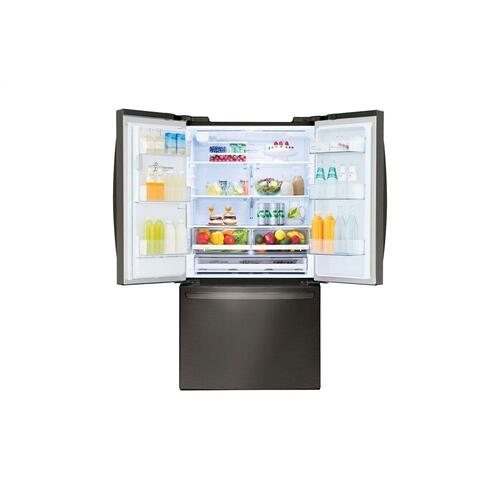 LG - 26 cu. ft. Smart wi-fi Enabled French Door Refrigerator