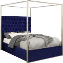"""Porter Velvet Bed - 82"""" W x 86.5"""" D x 78.5"""" H"""
