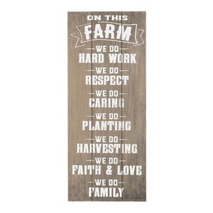 Plaque - On This Farm