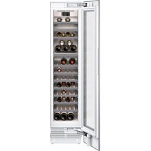 "400 series 400 series wine climate cabinet Fully integrated, panel ready, with glass door Niche width 18"" (45.7 cm)"