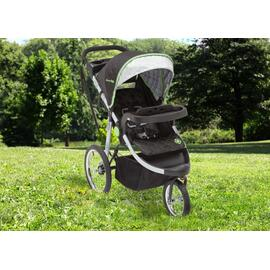 J is for Jeep® Brand Cross-Country All-Terrain Jogging Stroller - Trek Grey Tonal (0261)