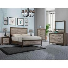 Jaren King Headboard/footboard