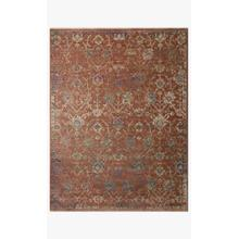 View Product - GIA-05 Terracotta / Multi Rug