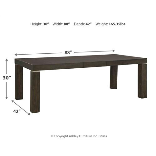 Hyndell Dining Room Extension Table