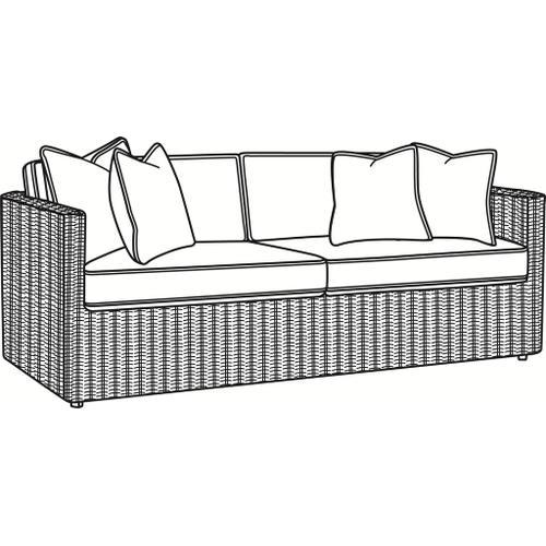 Braxton Culler Inc - Paradise Bay 2 over 2 Sofa