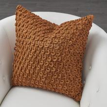 Loop Pillow-Rust