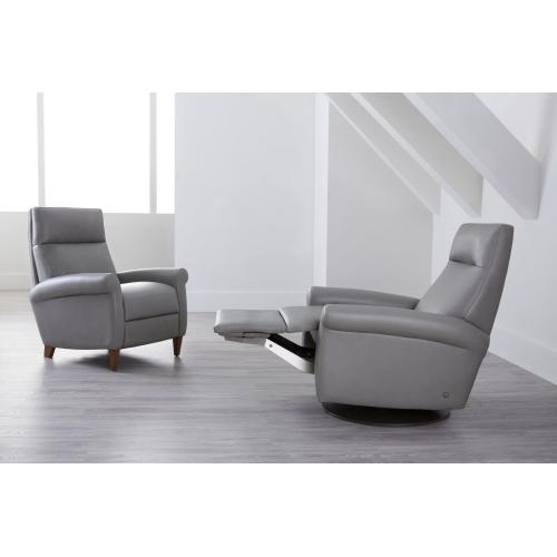 Adley Traditional Recliner Chair - American Leather