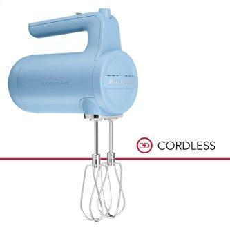 7 Speed Cordless Hand Mixer - Blue Velvet