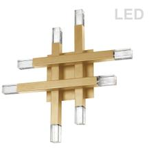 Product Image - 32w Wall Sconce, Agb W/ Acrylic Diffuser