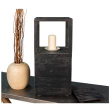 See Details - Large Candlestand, Weathered Black