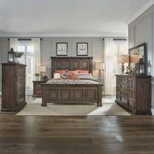 See Details - King Panel Bed, Dresser & Mirror, Chest, Night Stand