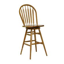 "30"" Arrowback Swivel Barstool"